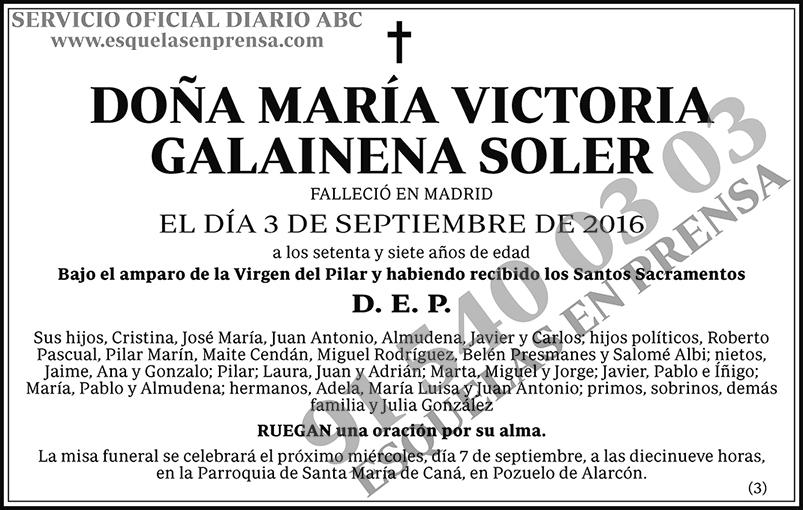 María Victoria Galainena Soler